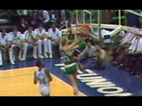 Larry Bird Goes Off For 47 Points, 12 Rebounds  |  11.27.85