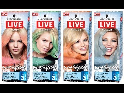 Live Pastel Spray Candy Cotton Ako Ju Nepouzivat Youtube