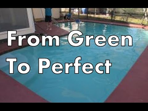 How to clear up green swimming pool water pt 2 youtube - How to clear green swimming pool water ...