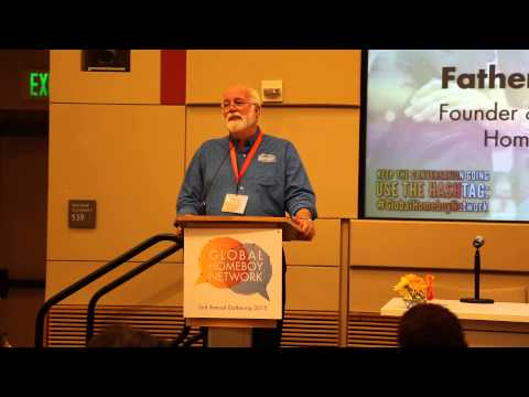 Father Greg Boyle Opens The Global Homeboy Network