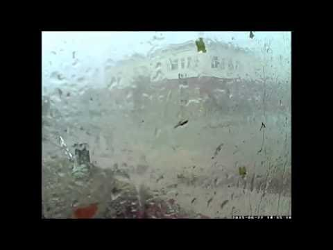EF3 Tornado on Security Camera