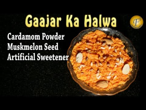 GAAJAR KA HALWA (DIABETIC-FRIENDLY CARROT DESSERT) II गाजर का हलवा II BY F3 BACHELORS COOKING II