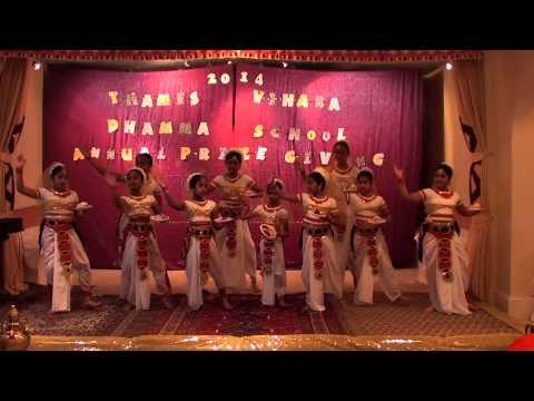 """Pooja Dance - """"Sri Sambuddha Raja Wandim"""""""