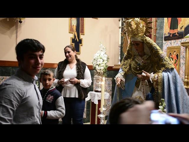 LA LINEA COFRADE. BESAMANOS EXTRAORDINARIO VIRGEN DEL AMOR Y ROSARIO 2019
