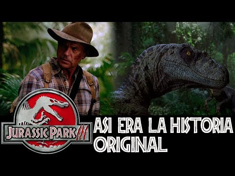 ¿Cómo Iba a Ser Jurassic Park 3? - La Historia Original