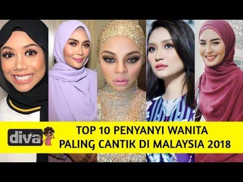 Top 10 Penyanyi Wanita Paling Cantik Di Malaysia 2018