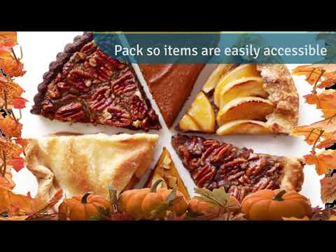 TSA Travel Tips  - Food Items