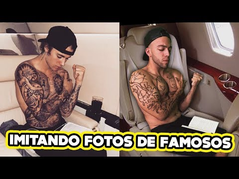 IMITANDO FOTOS DE FAMOSOS!!