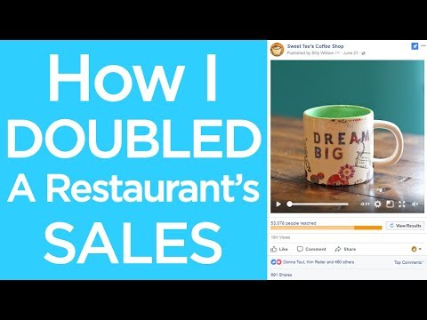 Doubling A Restaurant's Sales With Facebook Ads