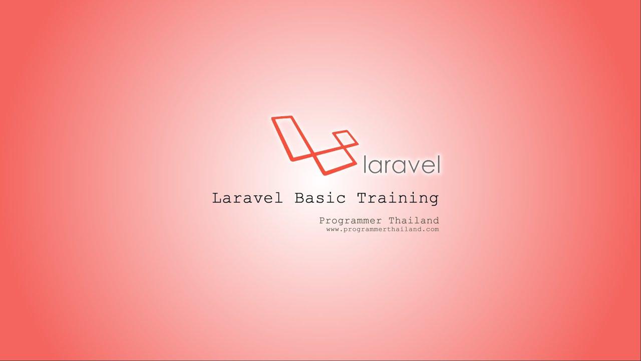 Laravel 42 Basic Tutorial