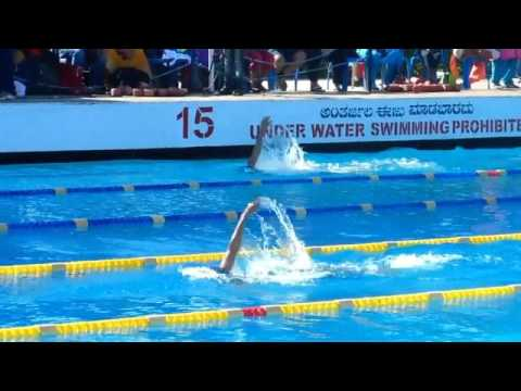 Karnataka swimming state meet 2017 - Group 2 400 IM finals