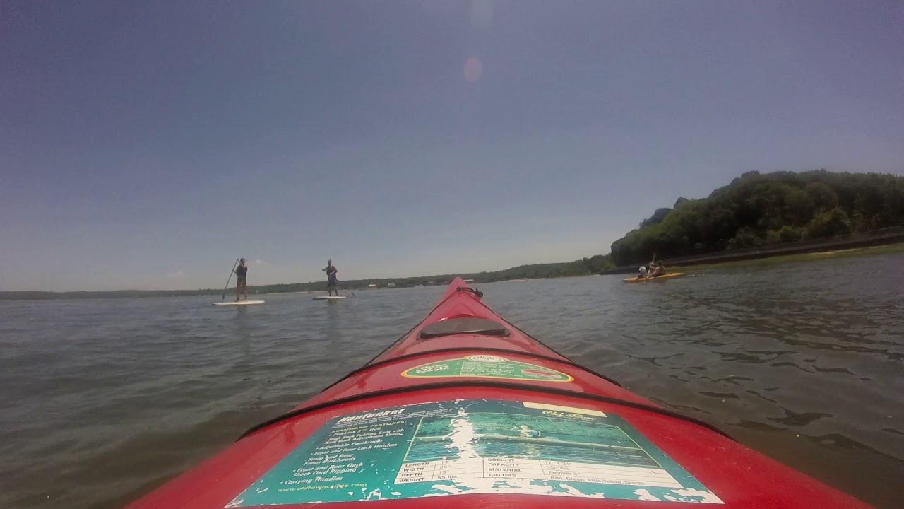 kayaking oyster bay long island ny june 17th youtube