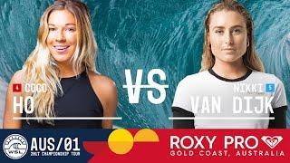 Coco Ho vs. Nikki Van Dijk - Roxy Pro Gold Coast 2017 Round Four, Heat 1