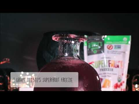 Halloween Punch With DeeBee's SuperFruit Freezies