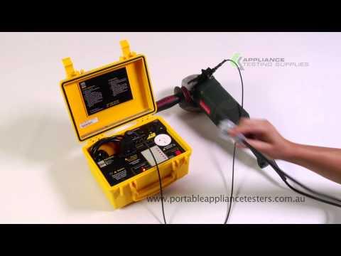 Aegis Patrol Pro Portable Appliance Tester