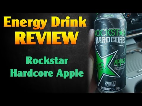 Rockstar Energy Hardcore Apple Review - Energy Drink Review by JDubb