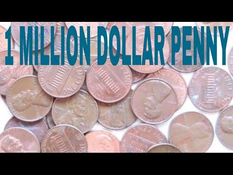1 Million Dollar Penny! Rare Mint Error