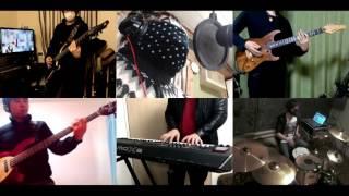 [HD]Musaigen no Phantom World OP [Naked Dive] Band cover
