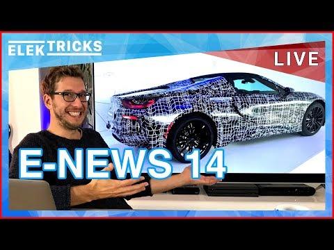 E-News #14 Nissan Leaf 2 Erfolg, 100.000 BMW i3, Europa's Gigafactory, KTM E-Bike, Tesla Model 3