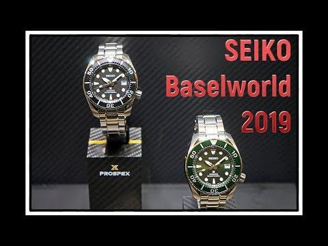 SEIKO Baselworld 2019 FuwaForestFilms | Uhren Clocks Watches | trade fair visit complete assortment