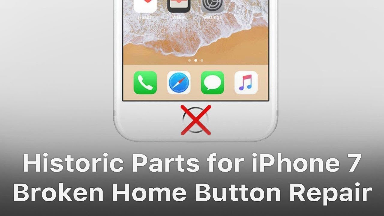 best authentic 1e394 9cf17 Historic Parts for iPhone 7 Home Button Broken Repair