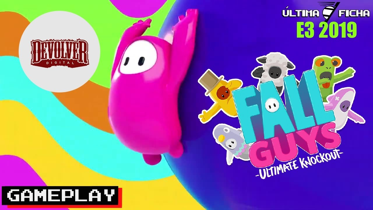 Fall Guys - Gameplay E3 2019 - YouTube