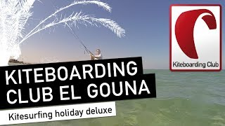Kiteboarding Club El Gouna 2015: Kitesurfing holiday deluxe