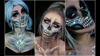 Calavera Sexy | Skull Glam 💀TOP INCREÍBLES MAQUILLAJES 💀💀 Best Halloween Makeup #2