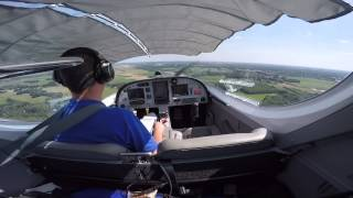Flying the PS-28 Sport Cruiser: Solo circuits at EHEH and to Helmond for sight-seeing