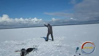 ICEFISHING Зимняя рыбалка на 51 км Финский залив северный берег