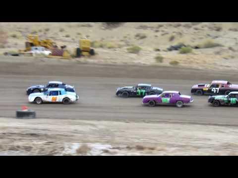 Desert Thunder Raceway Hobby/Pure Stock Heat Race 4/27/18