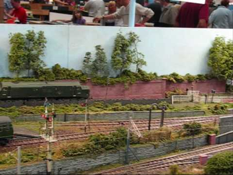 Model Railway Exhibition at Melksham, UK