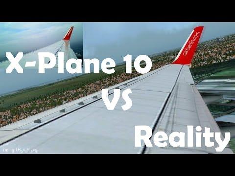x plane 10 air berlin 737 800 beautiful landing doovi. Black Bedroom Furniture Sets. Home Design Ideas