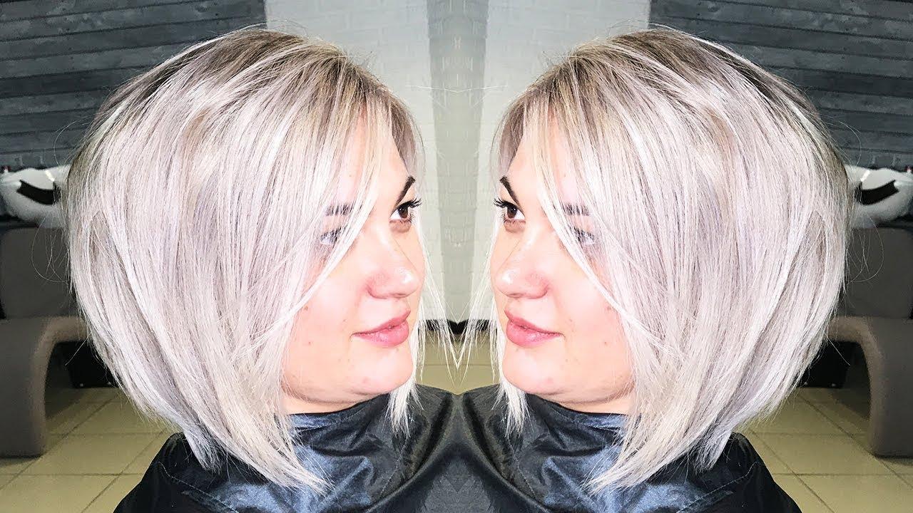 Коррекция мелирования. Рецепт окрашивания волос в холодный блонд.