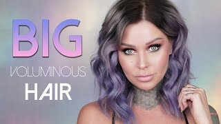 Thin, Flat Hair to BIG VOLUMINOUS THICK HAIR | KristenLeanneStyle