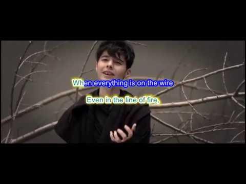 Kristian Kostov - Beautiful Mess KARAOKE WITH LYRICS (Bulgaria) Eurovision 2017