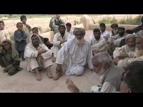 Afghan Officials, ISAF Forces Visit Villages in Farah Province