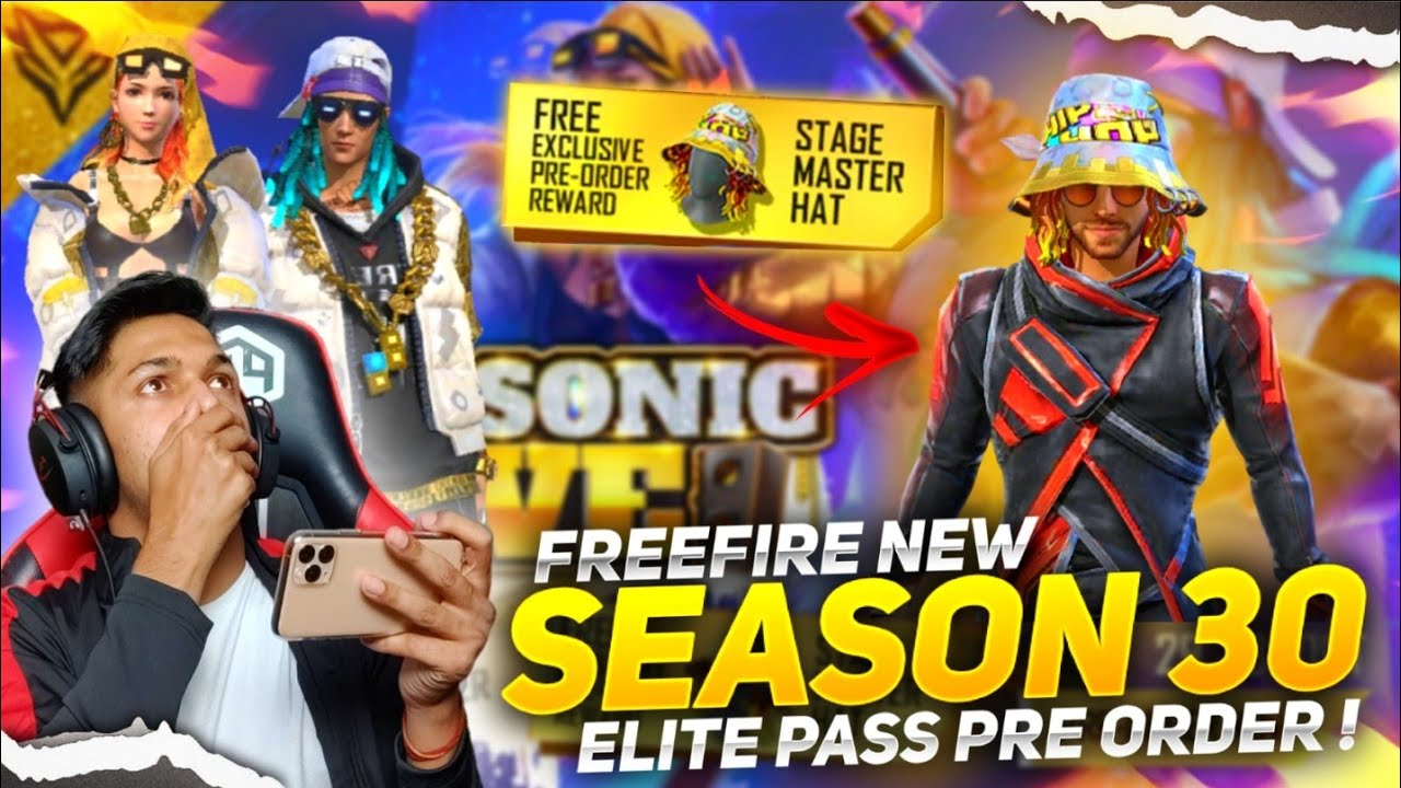New Season 30 Elite Pass Pre-order I Got New Stage Master Hat And New Bundle Garena Free Fire 2020