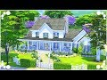 THE HARLOW FAMILY'S FARMHOUSE - Story Homes | The Sims 4 | Speed Build