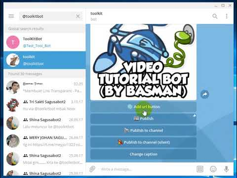 Membuat Link Transparan dengan Bot Telegram - YouTube