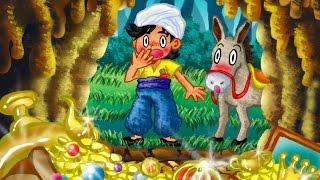 【絵本】アリババと40人の盗賊【読み聞かせ】世界の童話