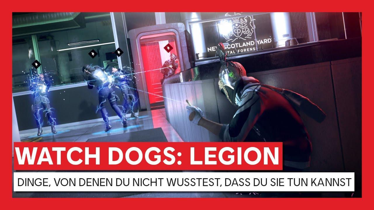 Watch Dogs: Legion - DINGE, VON DENEN DU NICHT WUSSTEST, DASS DU SIE TUN KANNST | Ubisoft