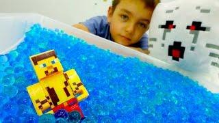 Майнкрафт видео. ЧИТ КОДЫ для Стива. Обзор игрушек Minecraft