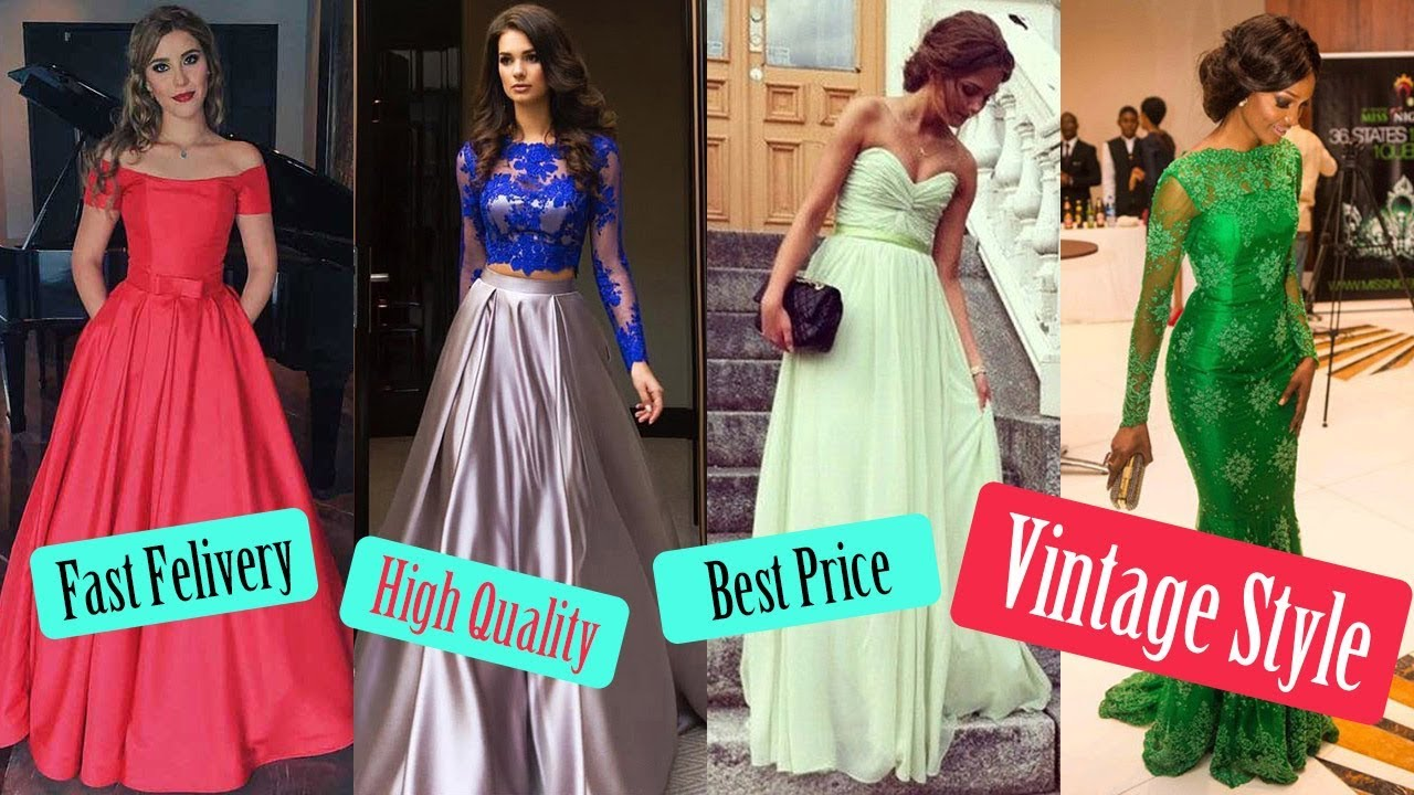 Vintage Prom Dresses On Sale 2018 Formal Party Dress 60 Off