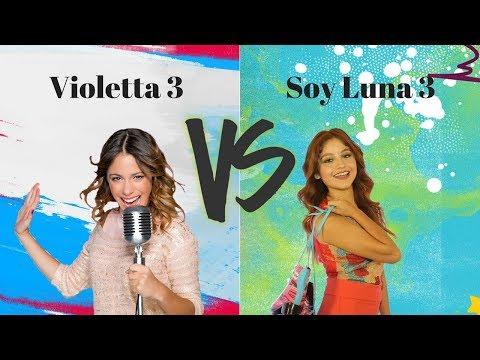 Soy Luna 3 vs Violetta 3 | Part 1 | Abracachasyde