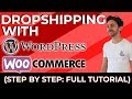 How To Make A Dropshipping Website with WordPress, Woocommerce, AliDropship & Flatsome