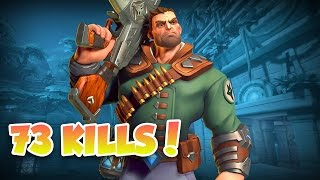 Paladins Viktor Gameplay - 73 Eliminations!