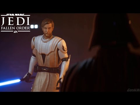 General Obi-Wan Kenobi vs Darth Vader - Star Wars Jedi: Fallen Order Ending (Mod) |