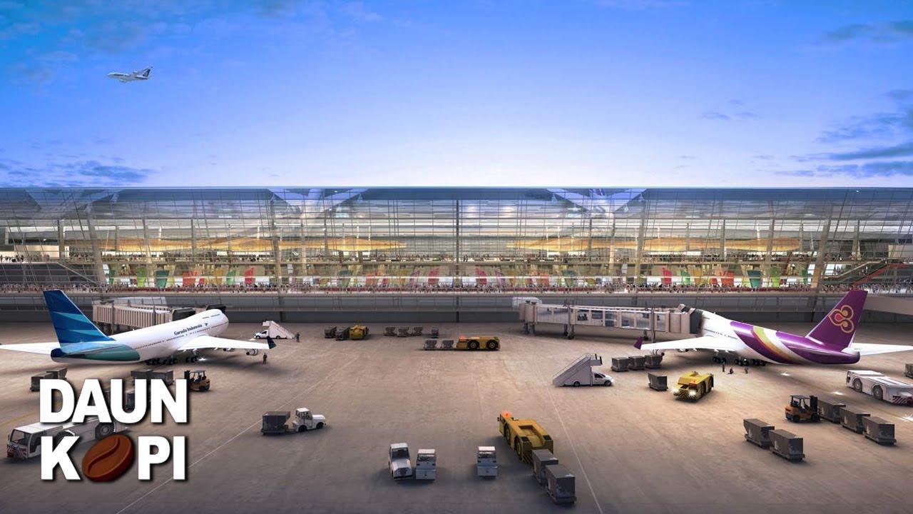 Bandara Terbesar Di Indonesia - YouTube