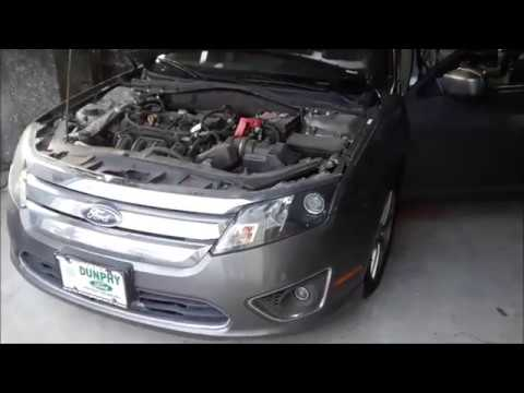 Ford Fusion Fuse Box  OBD2 Scanner locations - YouTube